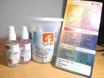 sampel produk parfum laundry/pewangi laundry